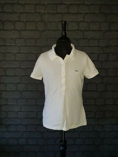 6d5f2b84b2 Ladies LACOSTE Polo Shirt Size U.K 8 #fashion #clothing #shoes #accessories  #