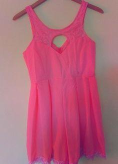 Kup mój przedmiot na #vintedpl http://www.vinted.pl/damska-odziez/kombinezony/9734293-kombinezon-girl-neon-roz-zwiewny