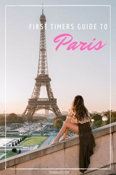 Planning a trip to Paris? Is it your first time? Here's the ultimate first timer's guide to Paris with everything you need to know! Paris Travel Guide, Europe Travel Tips, Places To Travel, Travel Guides, Travel Articles, Travel Destinations, European Travel, Amazing Destinations, Travel Advice