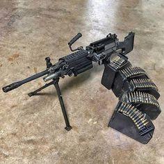 Military Weapons, Weapons Guns, Guns And Ammo, Big Guns, Cool Guns, Tactical Rifles, Firearms, Light Machine Gun, Machine Guns