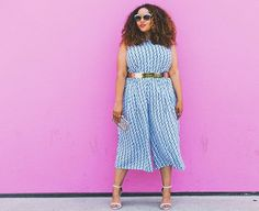 Pin for Later: Your Ultimate Guide to Getting Dressed in Every Summer Temp 79 Degrees A cropped jumpsuit and sandal heels.