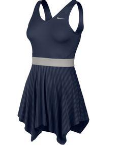 Prettiest on the Court. Nike Women's Novelty Knit Tennis Dress #DicksSportingGoods #FayetteFashion