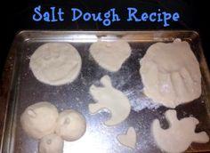 Easy & FUN Salt Dough Recipe