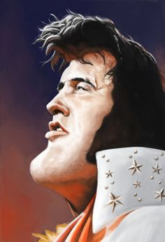 Elvis Presley FOLLOW THIS BOARD FOR GREAT CARICATURES OR ANY OF OUR OTHER CARICATURE BOARDS. WE HAVE A FEW SEPERATED BY THINGS LIKE ACTORS, MUSICIANS, POLITICS. SPORTS AND MORE...CHECK 'EM OUT!! Anthony Contorno Sr