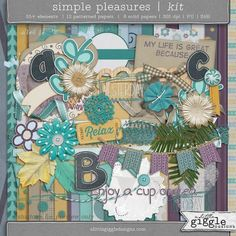 {Simple Pleasures} Kit | A Little Giggle Designs