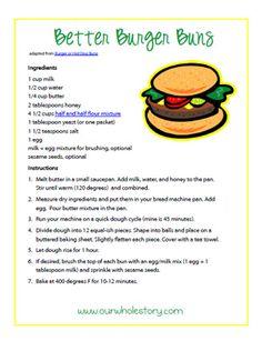 healthy hamburger buns (and pretty easy, too!)