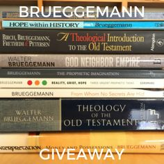 Walter Brueggemann Selected Works Giveaway