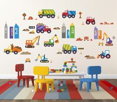Children's Car & Truck Wall Decals Posters at AllPosters.com