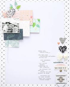 "237 Likes, 2 Comments - Pinkfresh Studio LLC (@pinkfreshstudio) on Instagram: ""We spotted this pretty layout by @steffiried using products from Let your heart decide and be you…"""