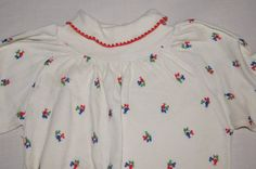 Vintage 1980's Carters Baby Shirt with by TheMercerStreetHouse