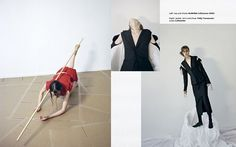 'New Objectivity' Georgia Hilmer by Hart + Leshkina for Tank Spring 2014 [Editorial] - Fashion Copious