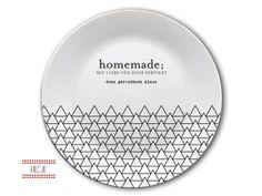 Geschenke für Männer - Teller mit Namen personalisierbar - ein Designerstück von Finlix bei DaWanda