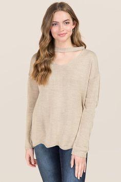 Auden Scalloped Edge Gigi Sweater