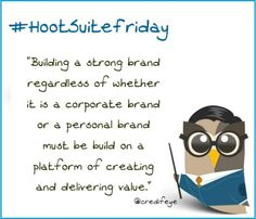 Yay ! @Credifeye created a #HootsuiteFriday and appeared on @HootSuite 's #Pinterest profile. @HootSuite is now following @credifeye :)