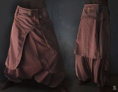 I like these but, Id make it a skirt. Dervish Pants by CyberGypsyFashion on Etsy, $135.00
