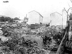Mondros sonrası Osmanlı Ordusuna ait silah ve teçhizatın toplanması 1919.