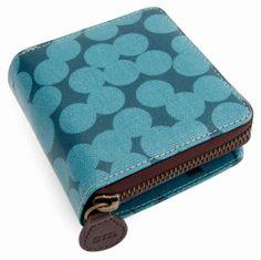 #sophiaandmatt The Blue Spot Wallet designed by Sophia & Matt, #Greenwich #London