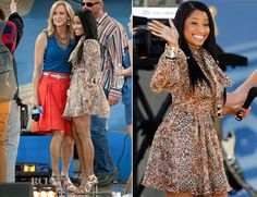 Nicki Minaj In Patricia Bonaldi – Good Morning America