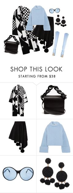 """""""outfit 6818"""" by natalyag ❤ liked on Polyvore featuring STELLA McCARTNEY, Marques'Almeida, Marni, Jil Sander, Emilio Pucci and Humble Chic"""