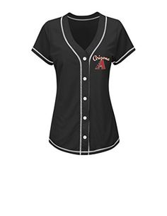 MLB Paul Goldschmidt Women's 44 M Fashion Tops  http://allstarsportsfan.com/product/mlb-paul-goldschmidt-womens-44-m-fashion-tops/  Women Short Sleeve Bottom Front Tee At Hip Contemporary Fit Official League Graphics
