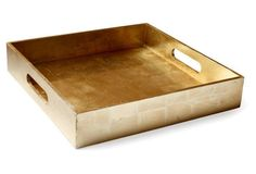 A lovely gold tray to display your little things!