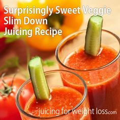 If you are craving something sweet, but are juicing for weight loss, this recipe is a great option.