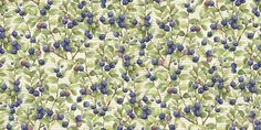 Susan Winget Cotton Fabric-Le Cerise Blueberries