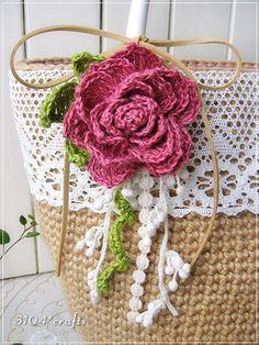 Diy Crochet Bag, Crochet Purses, Knit Or Crochet, Crochet Gifts, Irish Crochet, Lace Knitting, Crochet Stitches, Crochet Hooks, Crochet Patterns