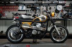 Yamaha SCR950 Scrambler by Jeff Palhegyi Designs #motorcycles #scrambler #motos   caferacerpasion.com