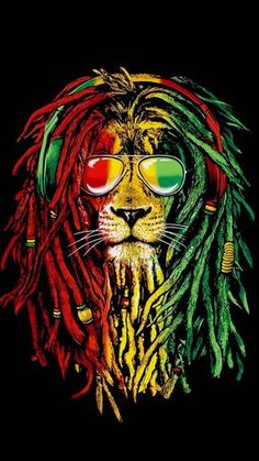 Lion reggae - in 2020 Dark Background Wallpaper, Lion Wallpaper, Wallpaper Downloads, Bob Marley Dibujo, Reggae Art, Rasta Lion, Wallpapers For Mobile Phones, Iphone Wallpapers, London Tattoo