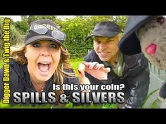 We were invited to test out new land planned for a charity dig, we were only there an hour but it turned out to be very productive, we had 2 spills and 2 sil. Metal Detecting, Digger, Twiggy, Dawn, Competition, Youtube, Youtubers, Youtube Movies