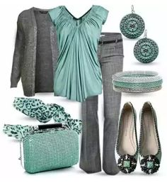I like this color combo, but not sure if the styles are my style