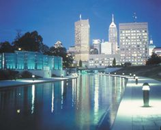 Indianapolis Canal and Downtown