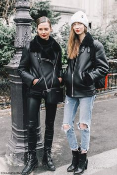 Неделя моды в Париже --самые женственные образы уличной моды