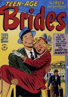 Teenage Brides cover 1953