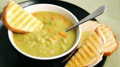 Невероятно вкусный гороховый суп с овощами