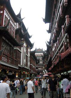 Street in Yu Yuan Garden Area ~ Shanghai, China