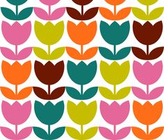 tulip_blind fabric by aliceapple on Spoonflower - custom fabric