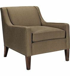 Valery Lounge Chair from the Thomas O'Brien collection by Hickory Chair Furniture Co.
