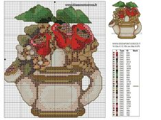 SCHEMI THUN - Idee a Punto Croce Stitch 2, Christmas Cross, Cross Stitch Designs, Cross Stitch Embroidery, Projects To Try, Valentines, Crafts, Geisha, Punto Croce