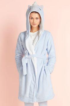50 Blue Unicorn Kigurumi Bathrobe 2016 Animal Robes