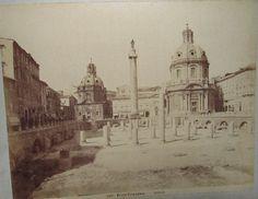 Foro Traiano 1880