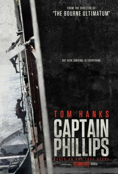 """Based on the true story of Captain Richard Phillips and the 2009 hijacking by Somali pirates of the US-flagged MV Maersk Alabama, which was the first American cargo ship to be hijacked in two hundred years."" Find CAPTAIN PHILLIPS in our catalog: http://highlandpark.bibliocommons.com/item/show/2307663035_captain_phillips"