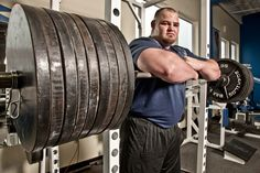"""Big Brian Shaw. 6'8"""" and 440 pounds of the World's Strongest Man. Bringing the title back to America."""