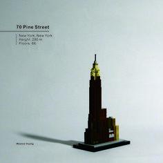 70 Pine Street Lego Skyscraper, Vintage New York, Lego Architecture, New World Order, World Trade Center, Skyscrapers, Legos, Pine, Buildings