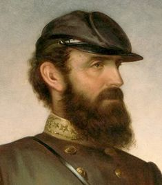 "Thomas J. ""Stonewall"" Jackson arrived at West Point unprepared and uneducated. He failed his first entrance exam. A loner, he worked diligently to improve his class ranking and graduated 17th. in the Class of 1846. His worst grades, like U.S. Grant's, in infantry tactics."