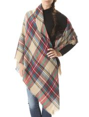 Grand foulard à carreaux beige Grands Foulards, Des Vêtements, Carreau,  Echarpe 8c2dc7b2841