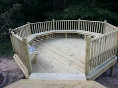 how to build an octagon deck