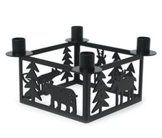 Bengt & Lotta Forest Advent Candle Holders at Northlight