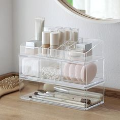 Cheap Makeup Organizers, Buy Directly from China Suppliers:Portable Transparent Makeup Organizer Storage Box Acrylic Make Up Organizer Cosmetic Organizer Makeup Storage Drawers Organizer Makeup Storage Drawers, Makeup Drawer Organization, Cosmetic Storage, Organization Ideas, Acrylic Makeup Storage, Organization Station, Storage Ideas, Cosmetic Items, Organizing Tips